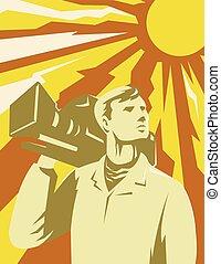 cameraman-video-looking-up