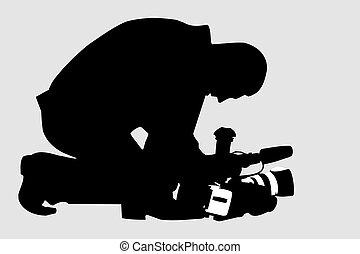 Cameraman - video operator