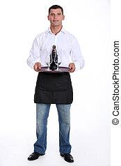 cameriere, vassoio