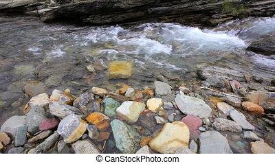 Creek - Cameron Creek, dolly shot