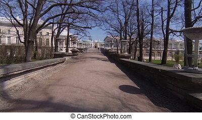 Cameron gallery. Pushkin. Catherine Park. Tsarskoye Selo.