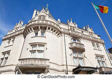 Cameroon Embassy Washington DC Victorian Queen Anne -...