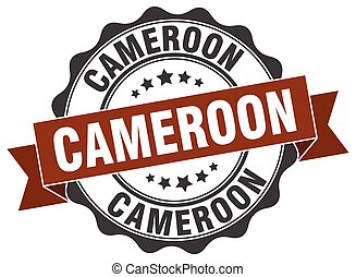 Cameroon round ribbon seal