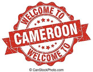 Cameroon round ribbon seal