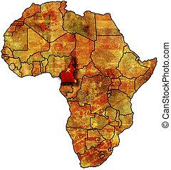 camerun old map