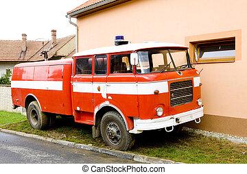 camión de bomberos, república checa