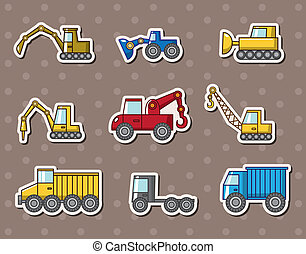 camión, pegatinas