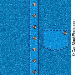 camicia blu, fondo