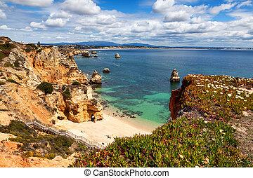 camilo, portugal, lagos, praia, algarve, playa