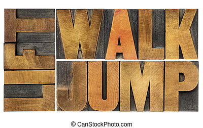 caminata, salto, levantamiento, -, condición física, concepto