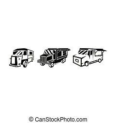 caminhão, alimento