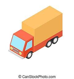 caminhão, barraca
