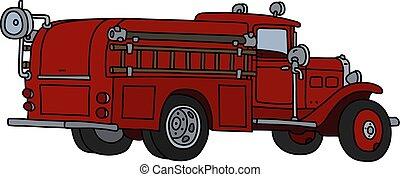 caminhão bombeiros, clássicas