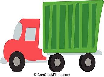 caminhão, caricatura