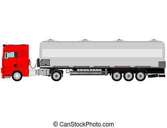 caminhão, cisterna