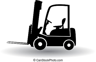 caminhão, forklift
