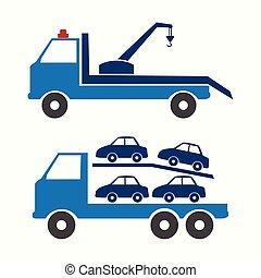 caminhão, símbolo