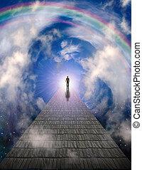 caminho, luz