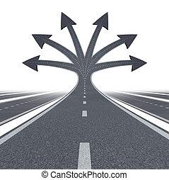 camino, a, oportunidad