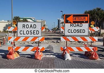 camino cerrado