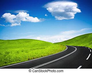 camino de la montaña