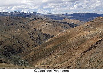 camino de la montaña, ladakh