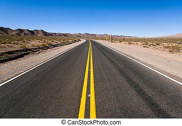 camino, en, norteño, argentina