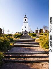camino, iglesia