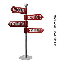 camino - señal, empresa / negocio
