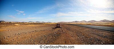 caminos, en, namibia