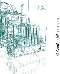 camion, 3d