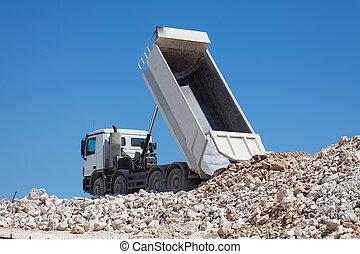 camion basculeur