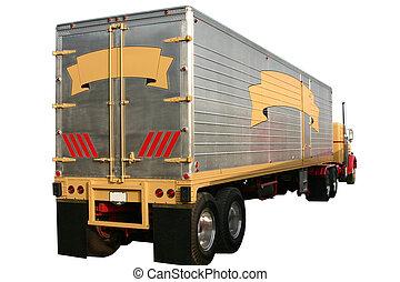 camion, caravane