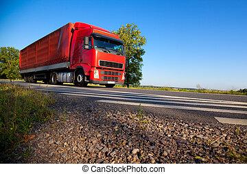 camion cargaison, transport