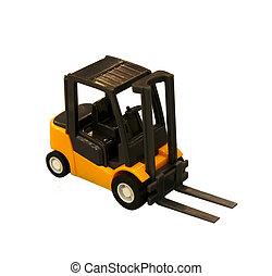 camion chariot élévateur fourche