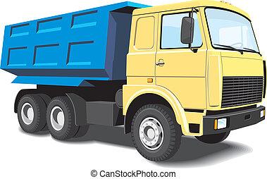 camion décharge