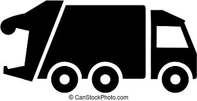 camion, déchets