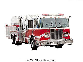 camion feu
