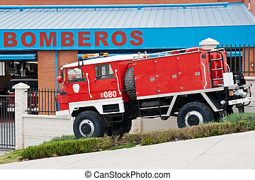 camion fuoco