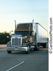 camion, grande