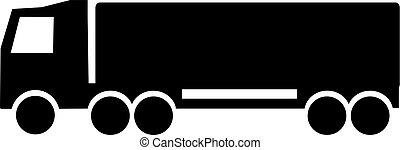 camion, icône