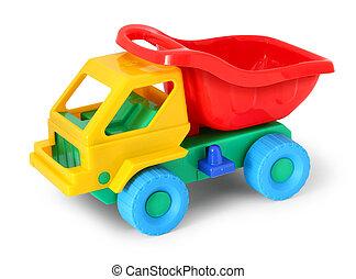 camion jouet, coloré