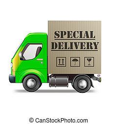 camion livraison, spécial