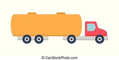 camion navire-citerne, icône