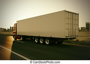 camion, road.