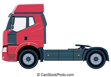 camion, rouges