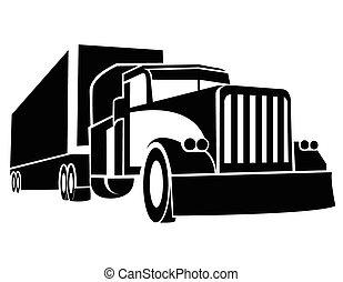 camion, simbolo