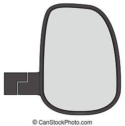 camion, specchietto laterale