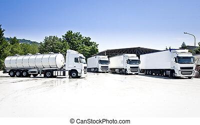 camions pétrolier