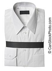 camisa de vestido blanca